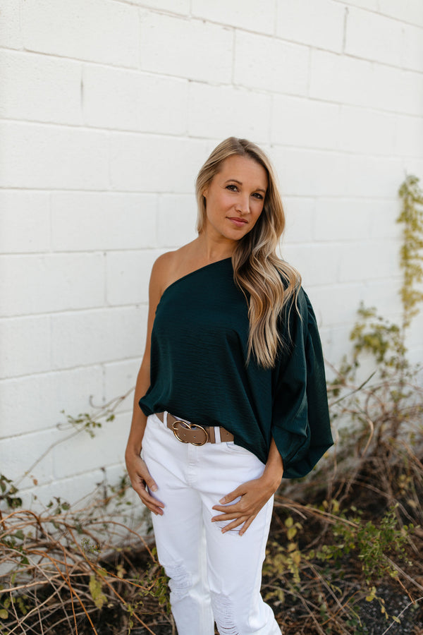 'Hidden Treasure' Top - Green