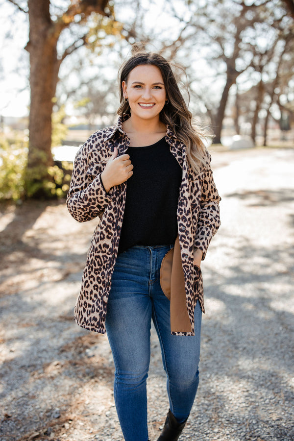 'Living In Leopard' Jacket