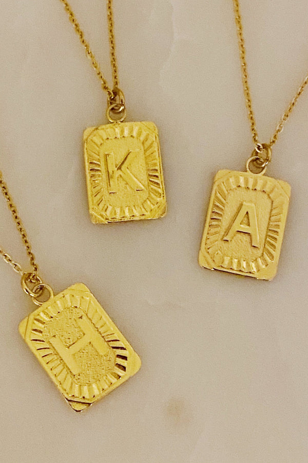 Initial Necklace *Pre-Order*