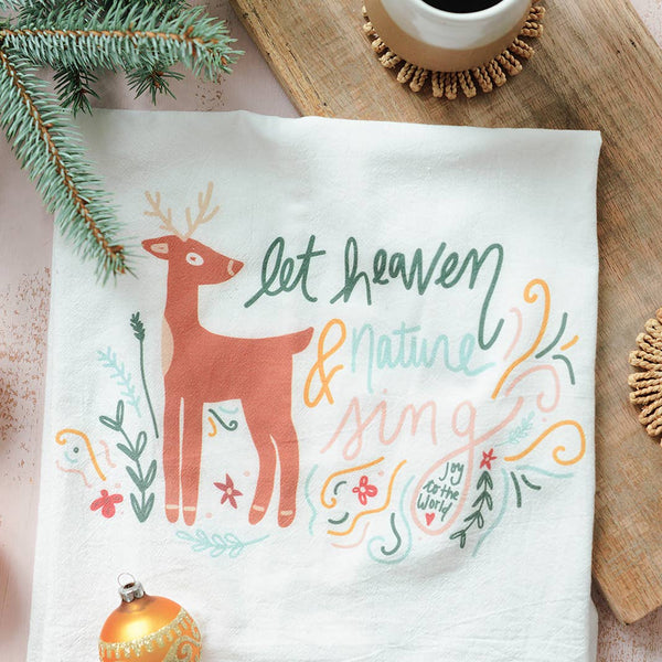 Let Heaven & Nature Sing Flour Sack Towel