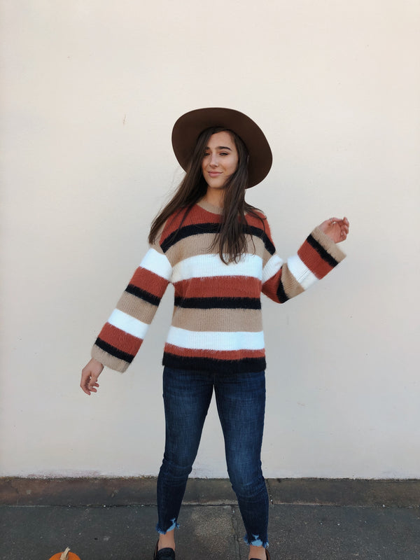 'Pumpkin Spice' Sweater