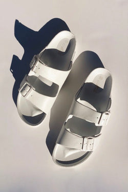 'Endless Summer' Sandals - White