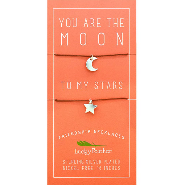 Friendship Necklace  Moon/Stars