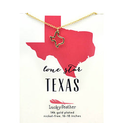 State Necklace - Texas