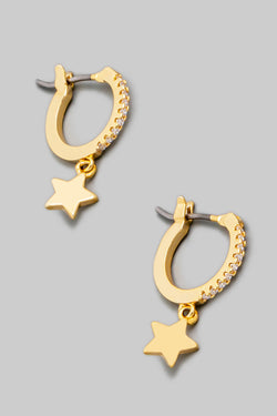 Star Latch Earrings