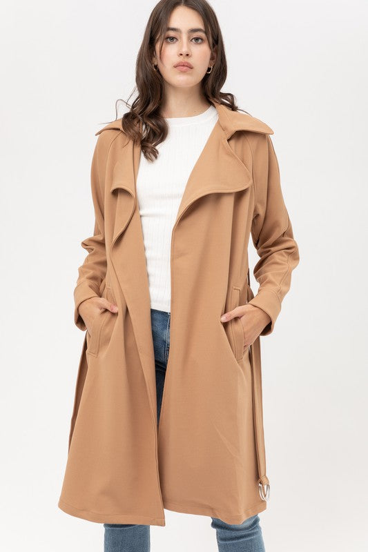 Lightweight Coat - Camel