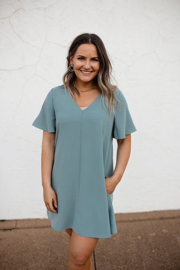 'Yes to Everything' Dress - Mint