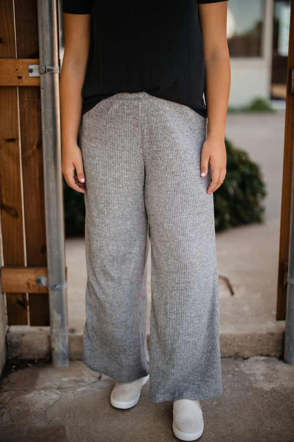 'Good Life' Pants - Heather Gray