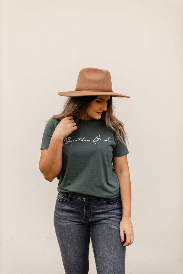 'See the Good' Tee - Green