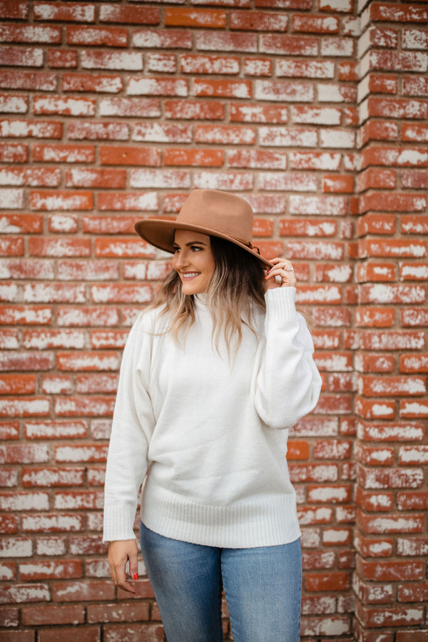 'Times are Changing' Sweater - Cream