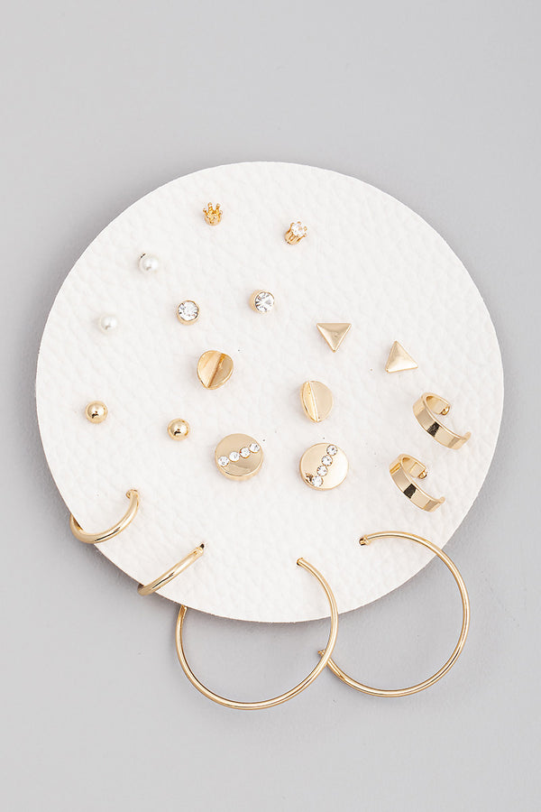 Simple Earring Set