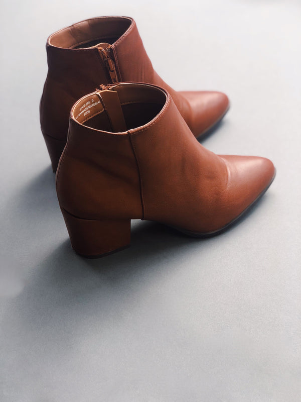 Chestnut Booties