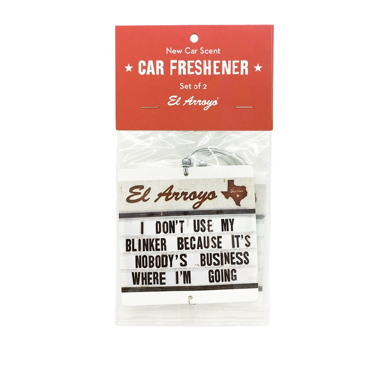 Car Air Freshener (2 Pack) - Nobody's Business
