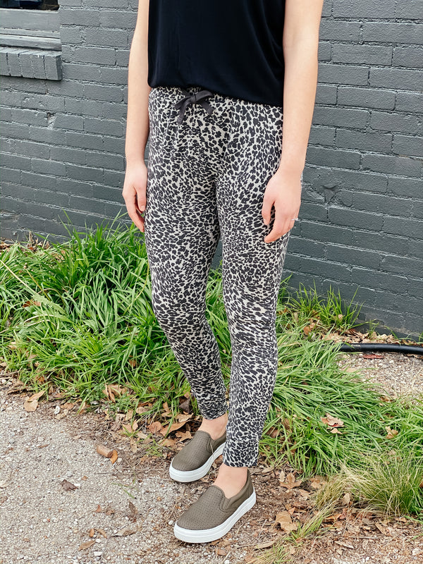 'Leopard Love' Joggers