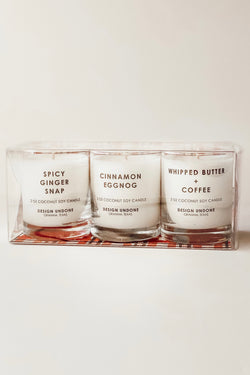 Candle Gift Set - Holiday Scented