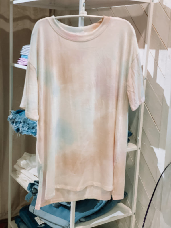 'To Dye For' Top - Cream