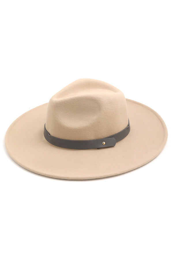 'Straight Ahead' Hat - Ivory