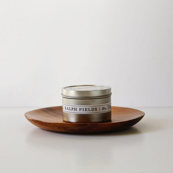 Ralph Fields 8oz. Tin Candle - Leather + Lace