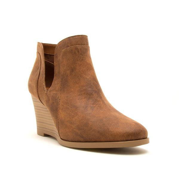 'Orna' Wedge Booties