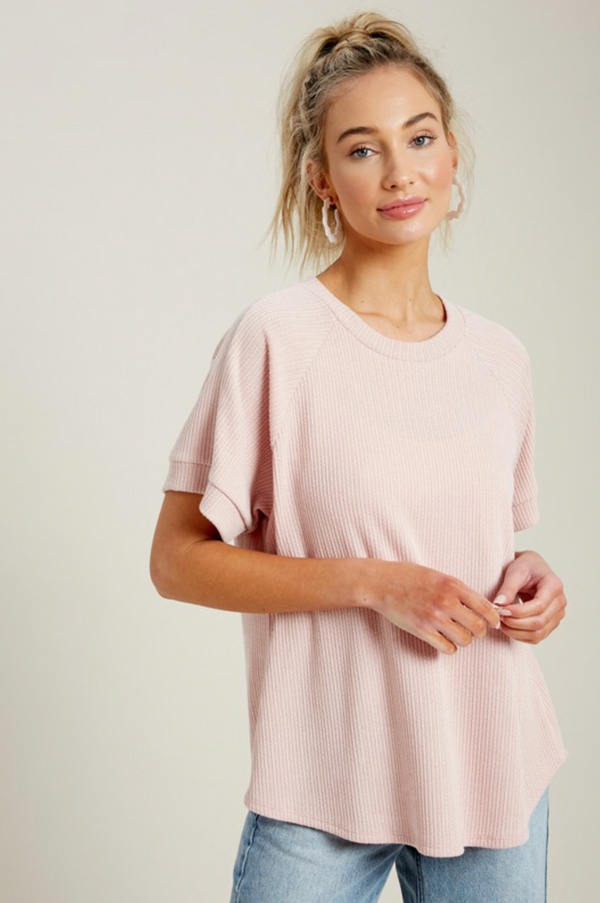 'Best Day' Top - Pink