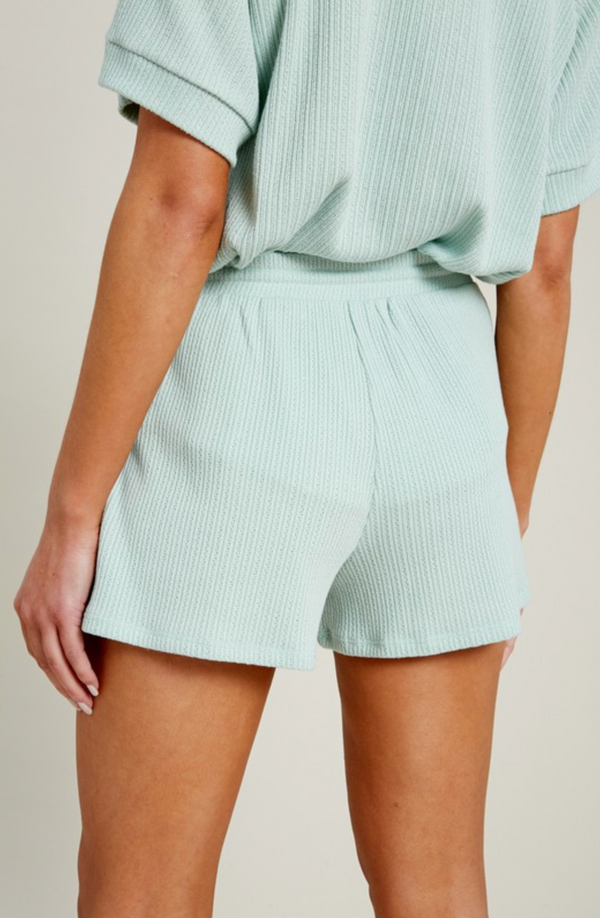 'Best Day' Shorts - Mint