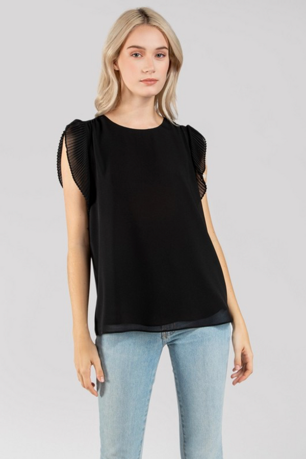 'First of Many' Top - Black