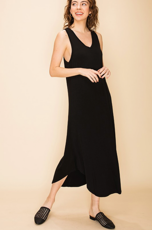 'Change In Time' Dress - Black