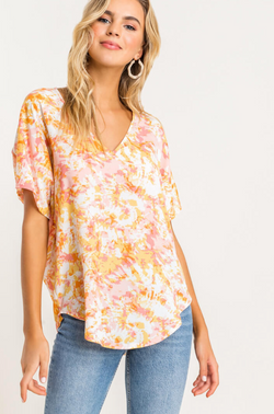 'Sunburst' Top