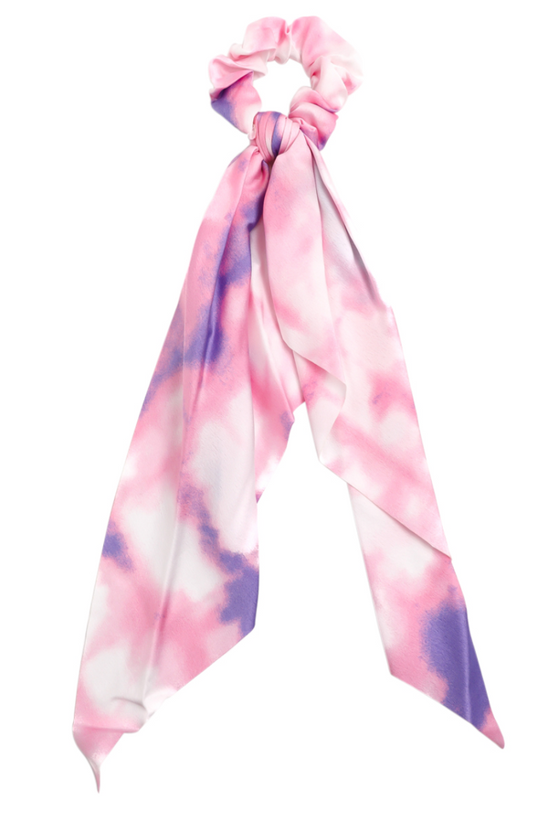 Scrunchie Scarf - Pink/Purple
