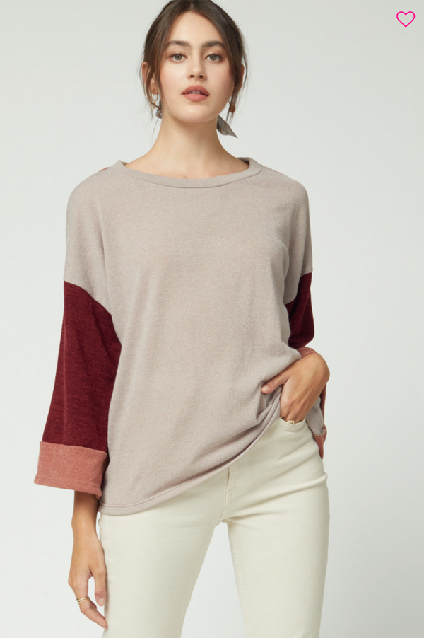 'Cooler Days' Top