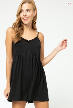 'Safe to Say' Romper