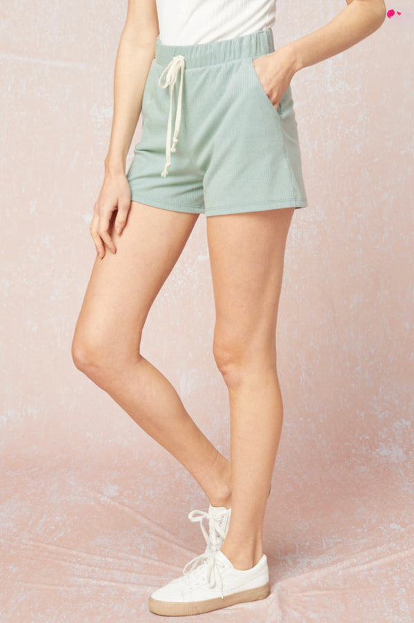 'Made to Move' Shorts - Sage