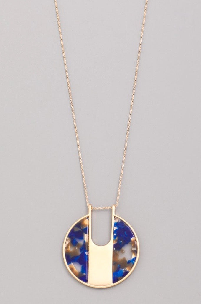 Acrylic Pendant Necklace