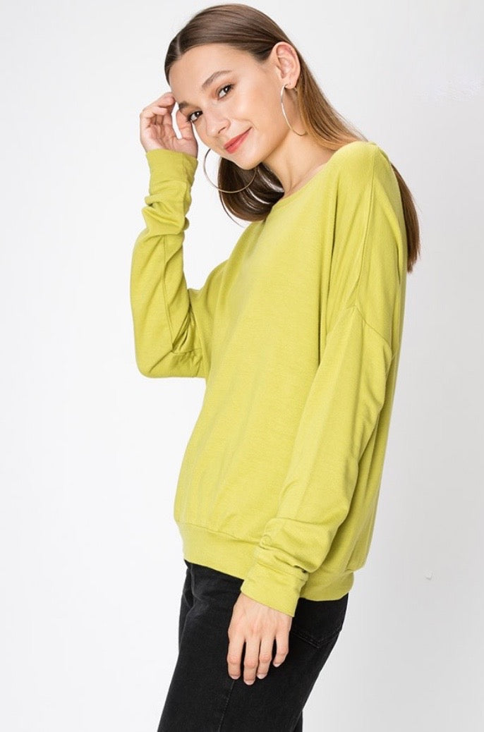 'Everyday' Sweatshirt - Moss