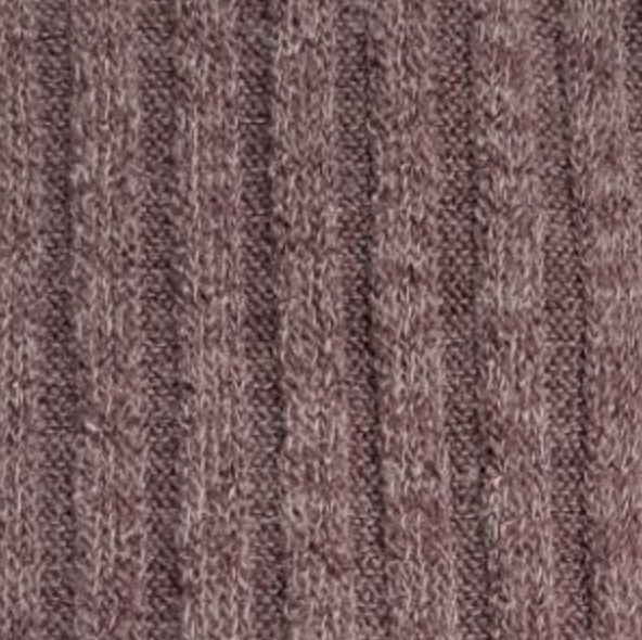 'Best Ever' Ribbed Top - Mauve