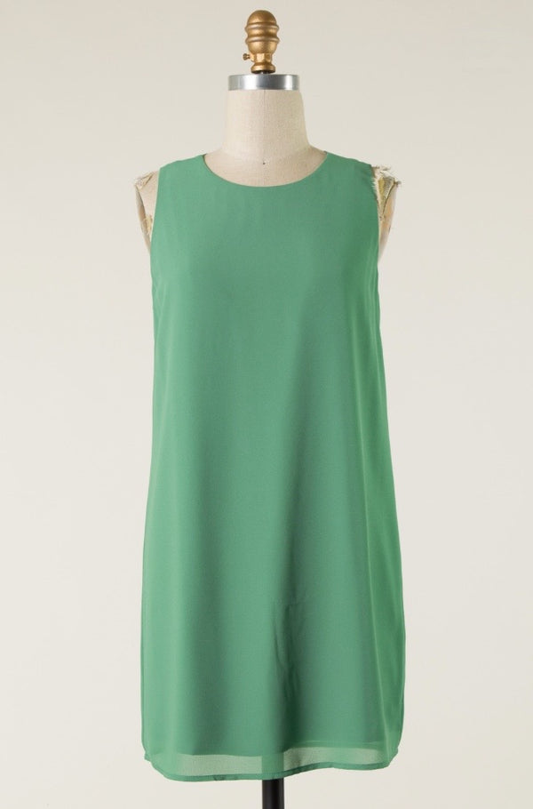 'Stay Forever' Dress - Soft Green