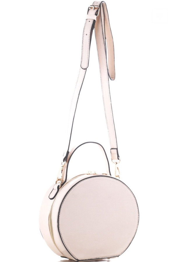 'Don't Forget' Crossbody - Beige