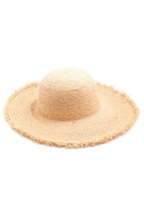 'Fringe Straw Hat