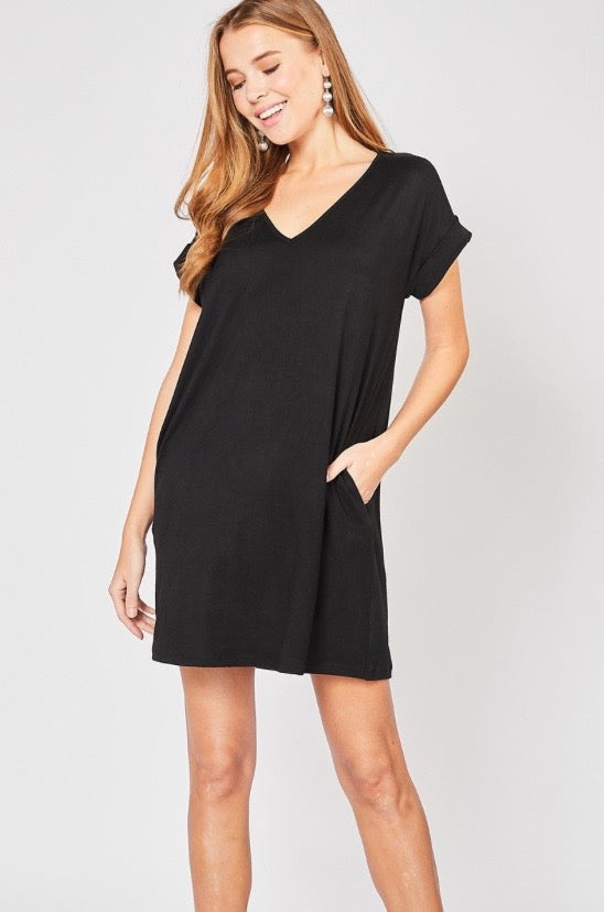 'For Today' Dress - Black