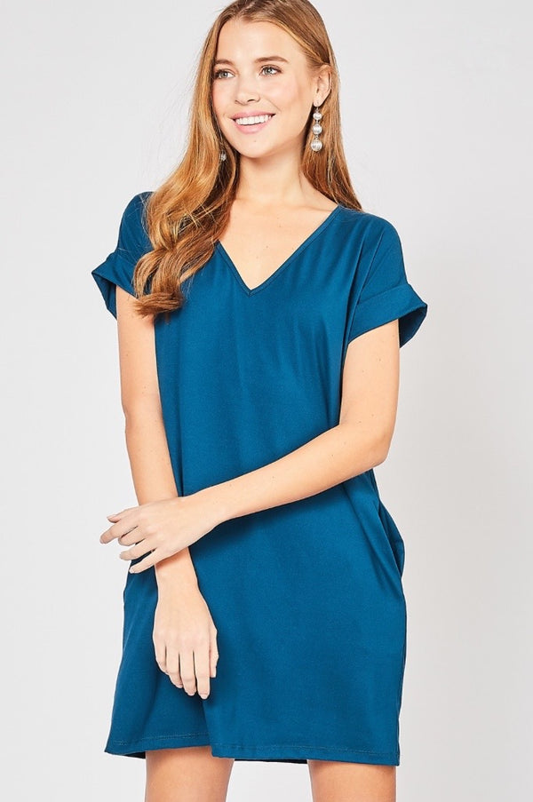 'For Today' Dress - Teal