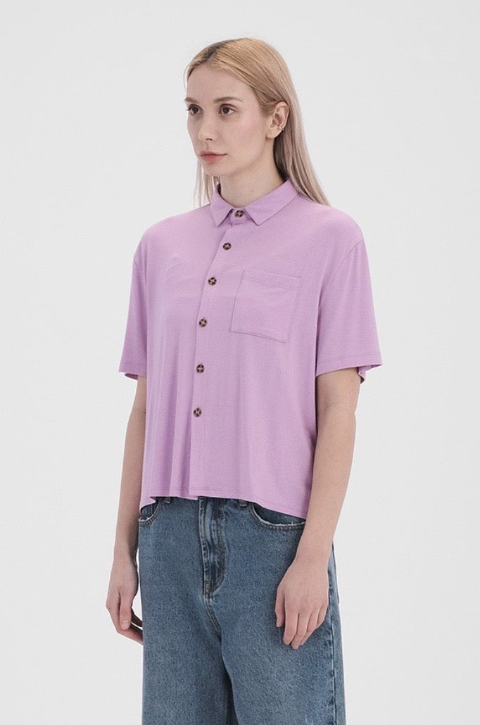 'Close to Me' Top - Lilac