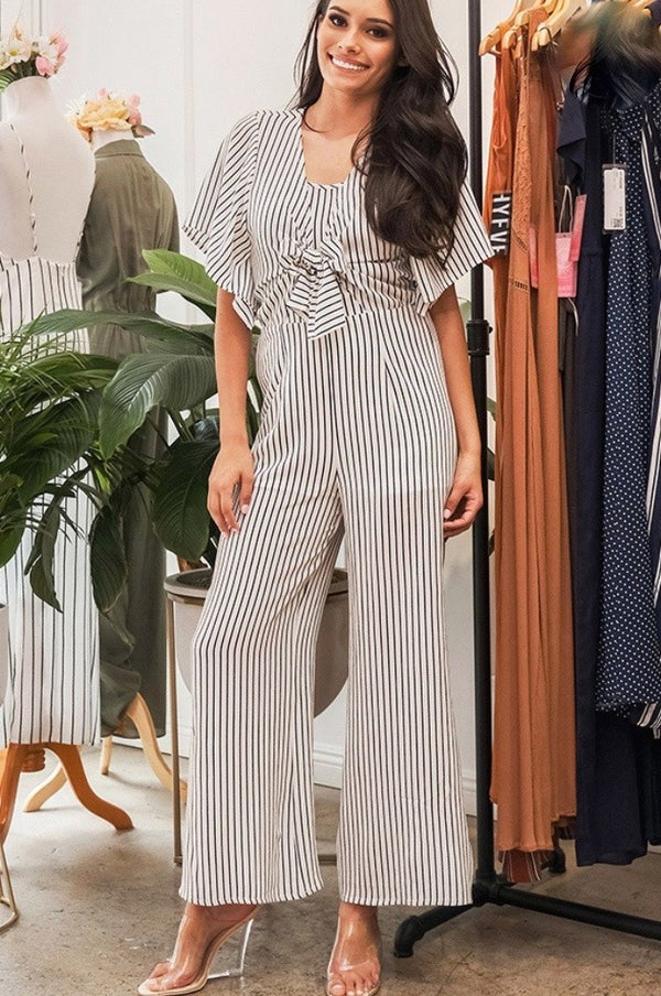 'Cross the Line' Jumpsuit