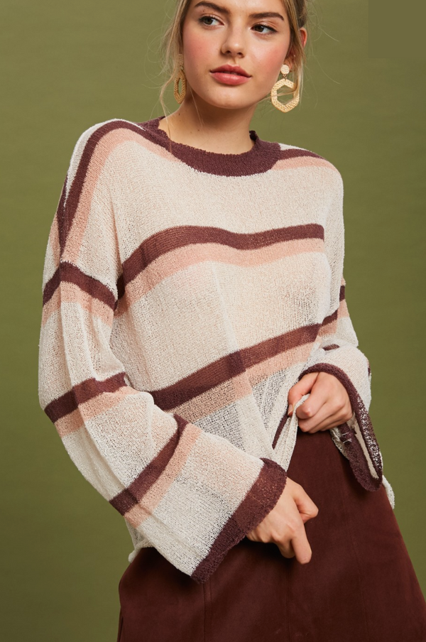 'Sweet Song' Sweater - Natural