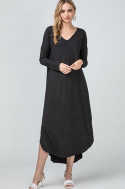 'Going Effortless' Dress - Black