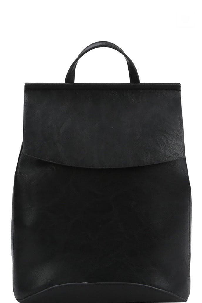 'Saved for Later' Convertible Bag - Black
