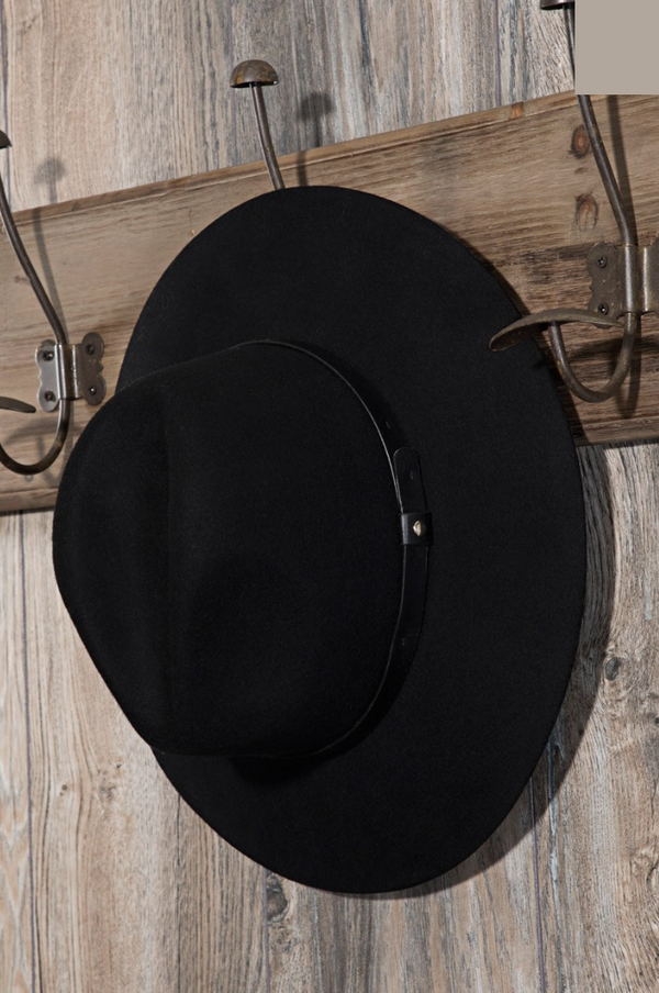 'Under Cover' Hat - Black