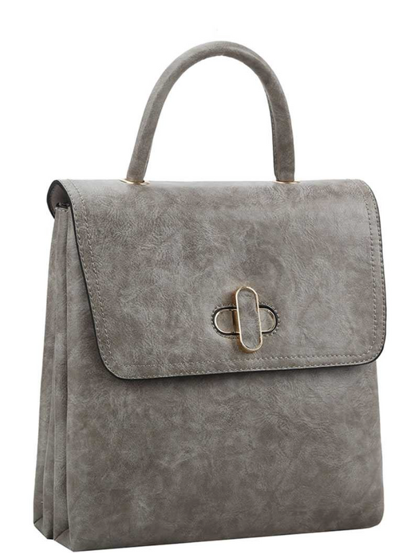 'Break Free' Convertible Bag - Gray