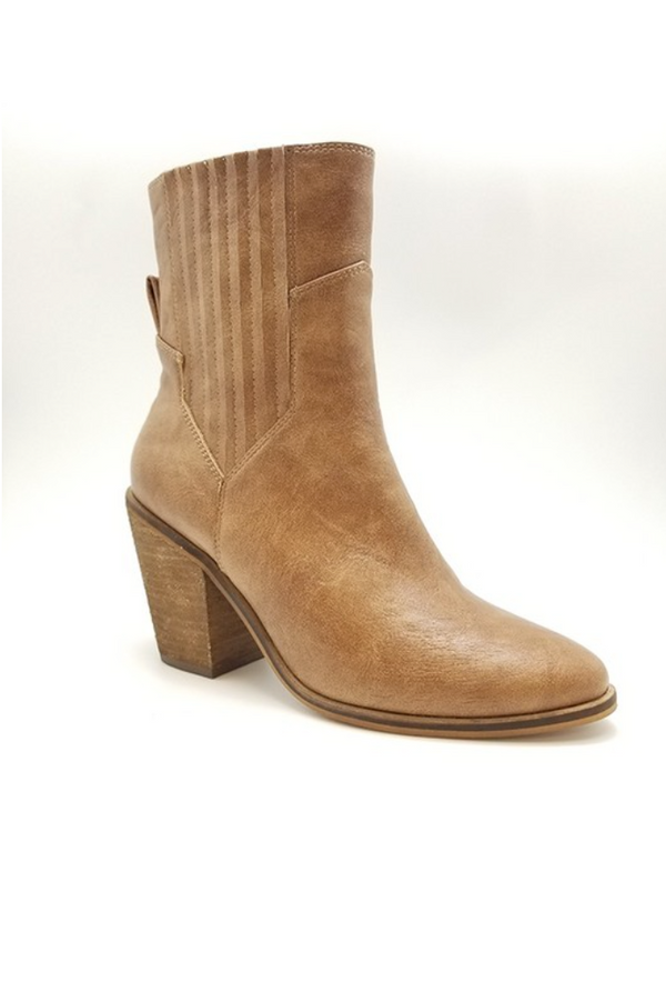 'Ada' Heeled Booties - Macchiatio