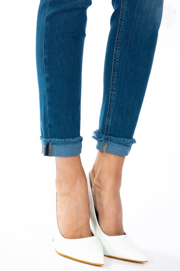 'Keep Up' High Rise Jeans