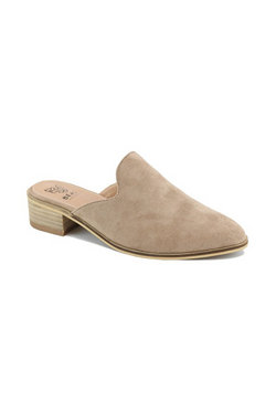 'Norway' Mules - Taupe